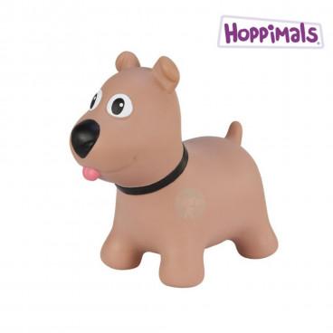 Hoppimals Φουσκωτό Ζωάκι Σκυλάκι Καφέ TFF-NN172