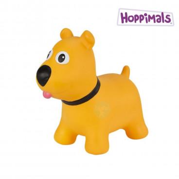 Hoppimals Φουσκωτό Ζωάκι Σκυλάκι Κίτρινο TFF-NN171