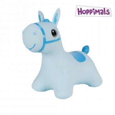 Hoppimals Φουσκωτό Ζωάκι Αλογάκι Μπλε TFF-NN182