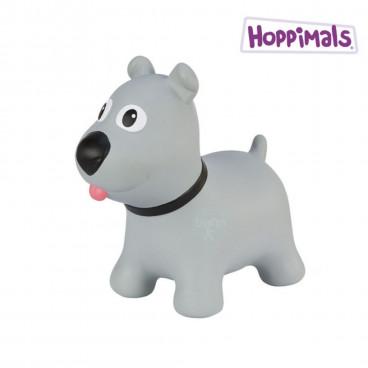 Hoppimals Φουσκωτό Ζωάκι Σκύλος Γκρί TFF-NN173