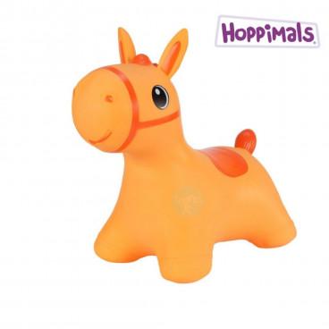 Hoppimals Φουσκωτό Ζωάκι Αλογάκι Πορτοκαλί TFF-NN184