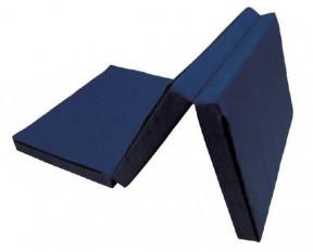 Kikkaboo Αναδιπλούμενο Στρώμα Παρκοκρέβατου Polyester Dark Blue 60/120/5cm 31107020004