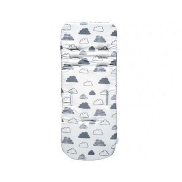 Kikkaboo Memory Foam Κάλυμμα Καροτσιού Fluffy Clouds 31106010009