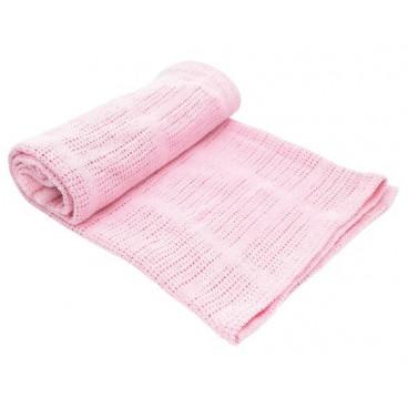 Kikkaboo Κουβέρτα Αγκαλιάς 70/100 cm Cellurar Pink 31103010017