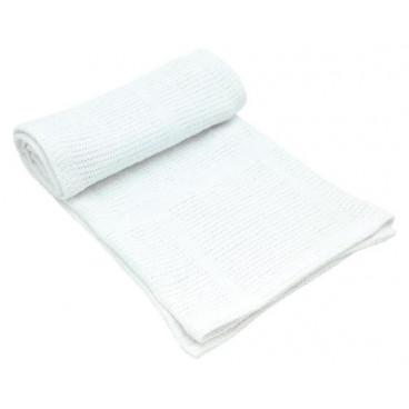 Kikkaboo Κουβέρτα Αγκαλιάς 70/100 cm Cellular White 31103010018
