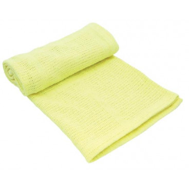 Kikkaboo Κουβέρτα Αγκαλιάς 70/100 cm Cellurar Yellow 31103010014