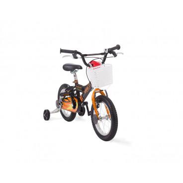 Kikkaboo Παιδικό Ποδήλατο 14 Inches Vulcan Black Orange 31006040018