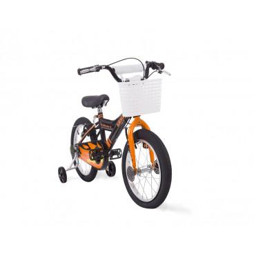 Kikkaboo Παιδικό Ποδήλατο 16 Inches Vulcan Black Fire 31006040025