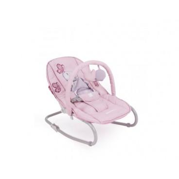 Kikkaboo Ρηλάξ Με Μπάρα Παιχνιδιών Foliage Pink Rabbit 31005020033