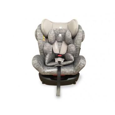 Kikkaboo Κάθισμα Αυτοκινήτου 4 Fix , 0-36 kg Light Grey