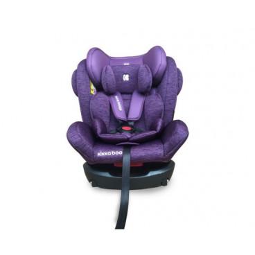 Kikkaboo Κάθισμα Αυτοκινήτου 4 Fix , 0-36 kg Purple (ΔΩΡΟ Προστατευτικό Καθίσματος Αυτοκ Με Θήκες)