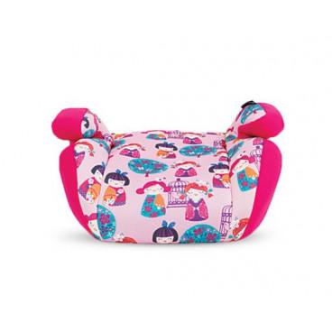 Kikkaboo Κάθισμα Αυτοκινήτου Jazzy,15-36Kg Pink Dolls 31002090006