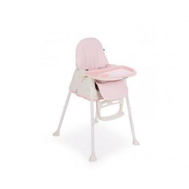 Kikkaboo Καρεκλάκι Φαγητού 2 Σε 1 Creamy Pink 31004010077