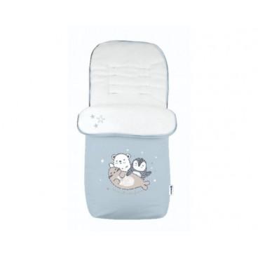 Kikkaboo Ποδόσακος Polar Friends Blue 31108040069