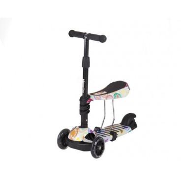 Kikkaboo Scooter 3 Σε 1 Ride Αnd Skate Circles 31006010021