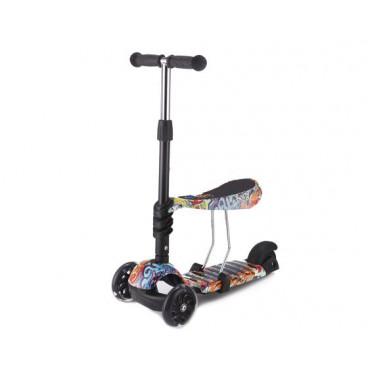 Kikkaboo Scooter 3 Σε 1 Ride Αnd Skate Scretch 31006010020