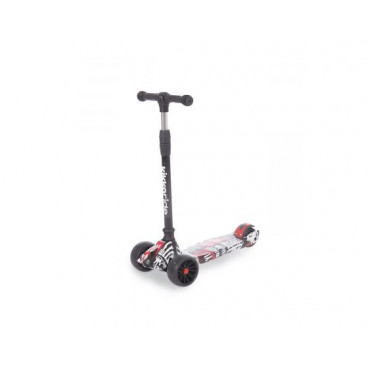 Kikkaboo Scooter Rebel Black/White 31006010043