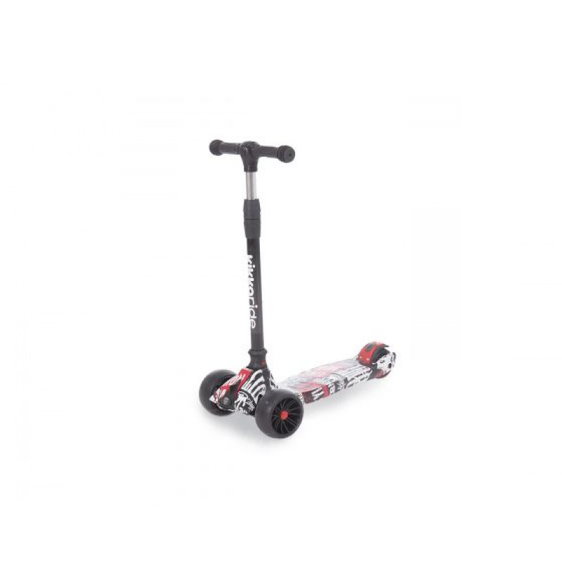 Kikkaboo Scooter Rebel Black/White 31006010043
