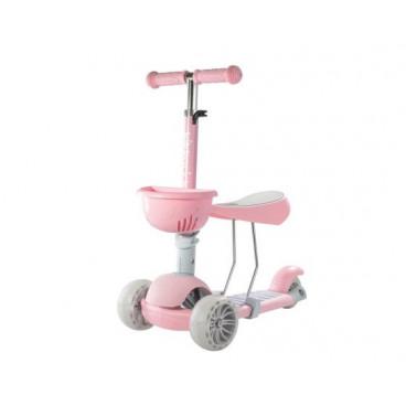 Kikkaboo Scooter 3 Σε 1 BonBon Pink 31006010045