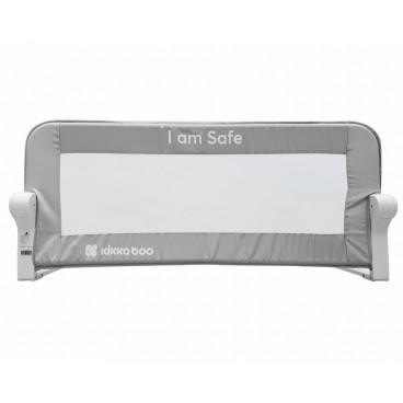 Kikkaboo Προστατευτική Μπάρα Κρεβατιού I am Safe Grey 102cm 31003050008