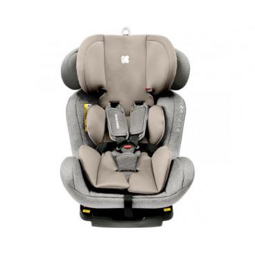 Kikkaboo Κάθισμα Αυτοκινήτου 4 Safe Isofix 2020 Light Grey, 0-36kg 31002070048
