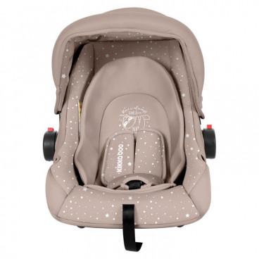 Kikkaboo Κάθισμα Αυτοκινήτου Little Traveller, 0-13kg Beige Sloth 2020 31002020056
