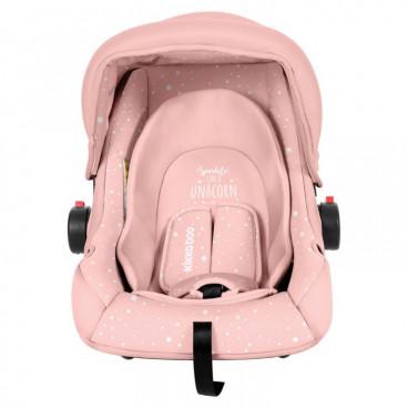 Kikkaboo Κάθισμα Αυτοκινήτου Little Traveller, 0-13kg Pink Unocorn 2020 31002020058