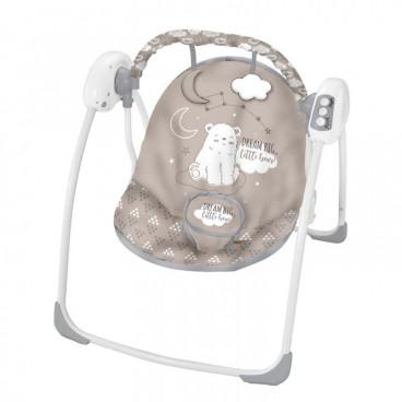 Kikkaboo Κούνια Ρηλάξ Swing Felice Grey Bear 31005010019