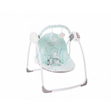 Kikkaboo Κούνια Ρηλάξ Swing Felice Mint Elephant 31005010010
