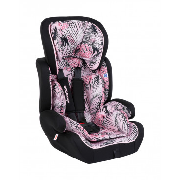 Kikkaboo Παιδικό Κάθισμα Αυτοκινήτου Joyride Pink 9-36Kg 31002080062