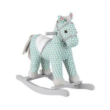 Kikkaboo Κουνιστό Ξύλινο Με Ήχο Horse Green 31201040007