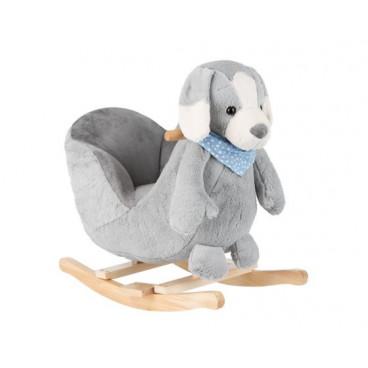 Kikkaboo Κουνιστό Ξύλινο Puppy Grey 31201040004