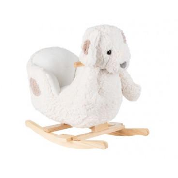 Kikkaboo Κουνιστό Ξύλινο Puppy White 31201040008