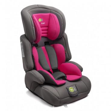 KinderKraft Κάθισμα Αυτοκινήτου Comfort Up  1-2-3, Pink  9-36kg KK99185