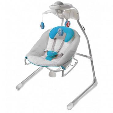 KinderKraft Ρηλάξ Κούνια Gino Swing 2 Σε 1 Blue KK99212