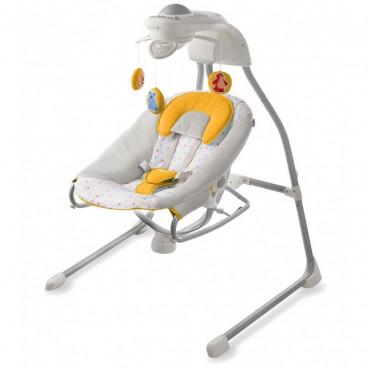 a185b21923f KinderKraft Ρηλάξ Κούνια Gino Swing 2 Σε 1 Yellow KK99211