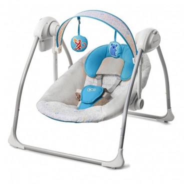 KinderKraft Ρηλάξ Κούνια Nani Swing Blue KK99210