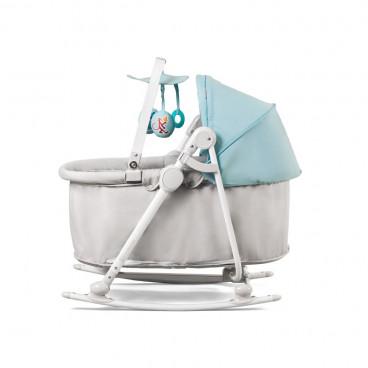 KinderKraft Ρηλάξ Καλαθούνα Unimo 5 Σε 1 Light Blue KKBUNIMLIBL000
