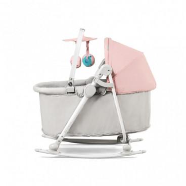 KinderKraft Ρηλάξ Καλαθούνα Unimo 5 Σε 1 Pink KKBUNIMPNK0000