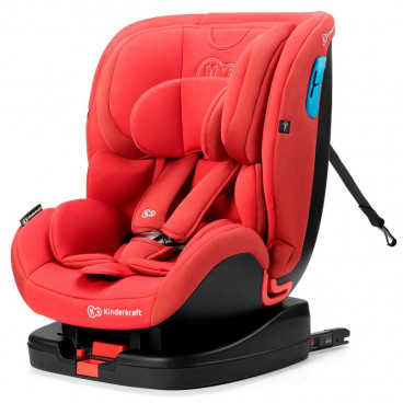 Kinderkraft Κάθισμα Αυτοκινήτου Vado Isofix, 0-25 kg Red KKFVADORED0000