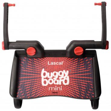 Lascal Buggy Board Mini Σκαλοπατάκι Για Μεγαλύτερα Παιδιά Κόκκινο/Μαύρο 2320/2840/2820