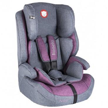 Lionelo Κάθισμα Αυτοκινήτου Nico, 9-36kg Violet 5902581652478