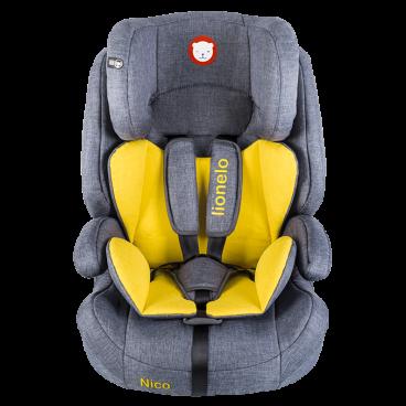 Lionelo Κάθισμα Αυτοκινήτου Nico, 9-36kg Yellow 5902581652461