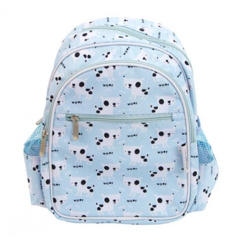 2e20b7fb0cc A Little Lovely Παιδική Τσάντα Πλάτης Blue Dogs BPDOBU13