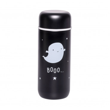 A Little Lovely Θερμός 200ml Black Ghost IBGHBL03