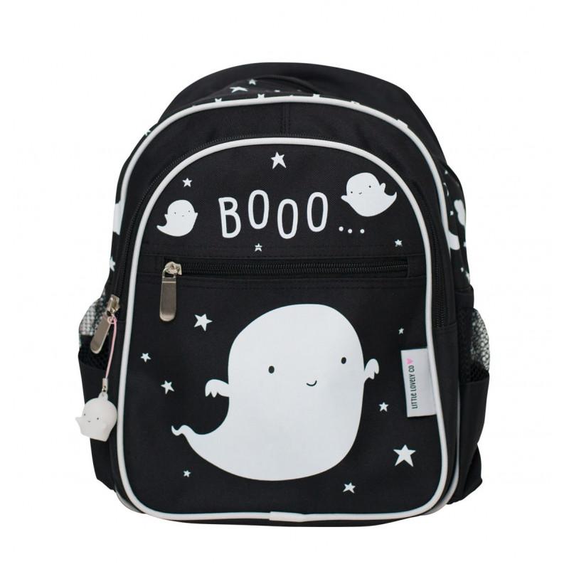3e97147d2f2 A Little Lovely Παιδική Τσάντα Πλάτης Black Ghost BGGH006 Παιδική ...