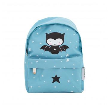 A Little Lovely Παιδική Τσάντα Πλάτης Blue Bat BPBA007