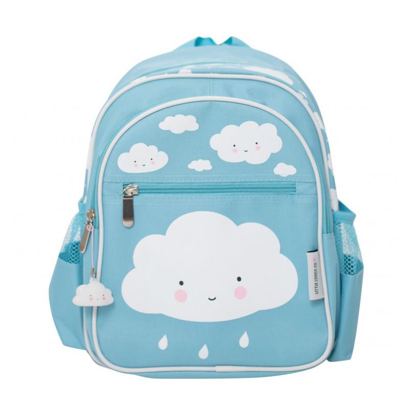 70e0e270a09 A Little Lovely Παιδική Τσάντα Πλάτης Clouds Blue BGBL004 Παιδική ...