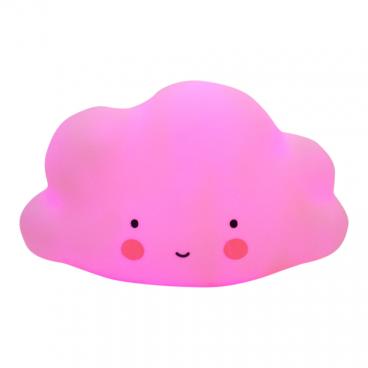 A Little Lovely Φωτάκι Νυχτός Mini Cloud Pink LTCP054
