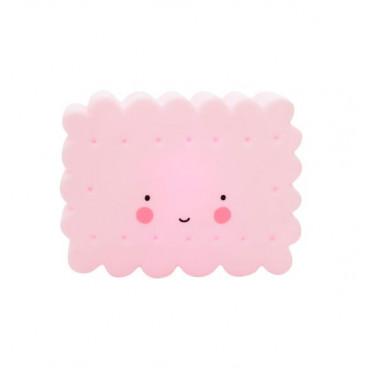 A Little Lovely Φωτάκι Νυχτός Mini Cookie Light Pink LTCO059